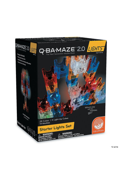 SALE 2020 Q-Ba-Maze 2.0 Lights Starter Set