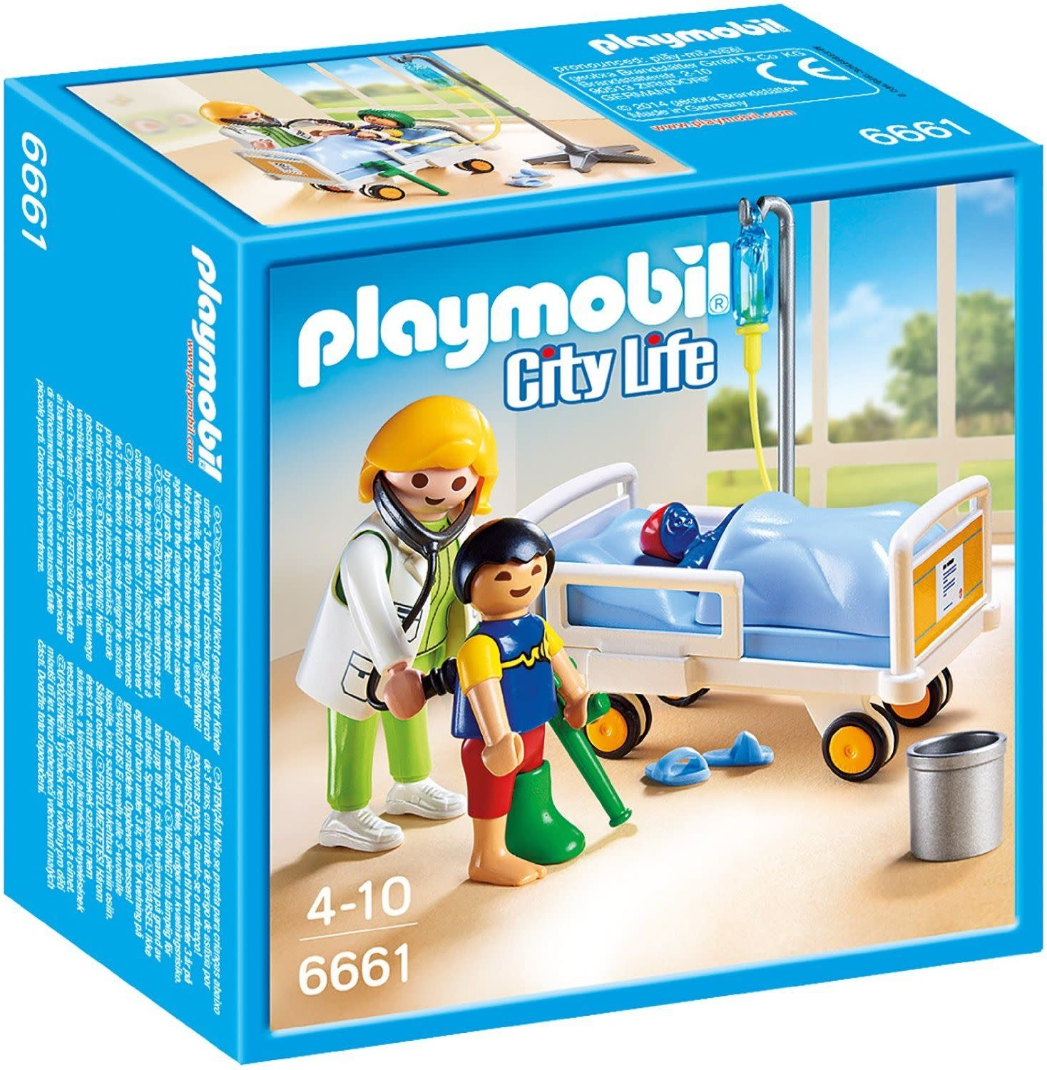 SALE 2020 Playmobil Doctor with Child-1