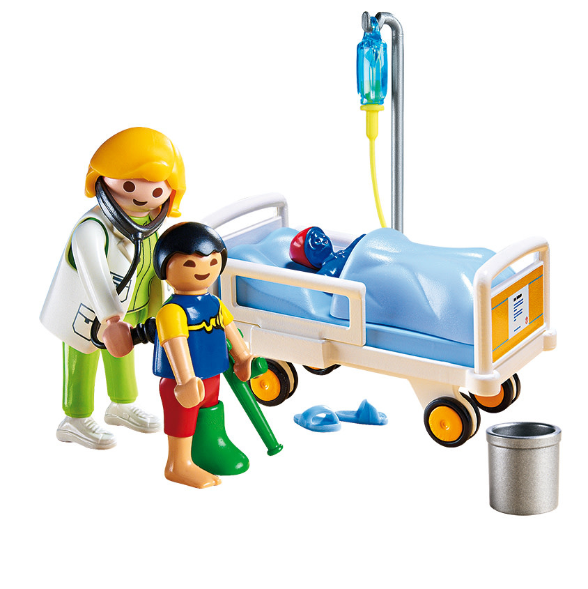 SALE 2020 Playmobil Doctor with Child-2