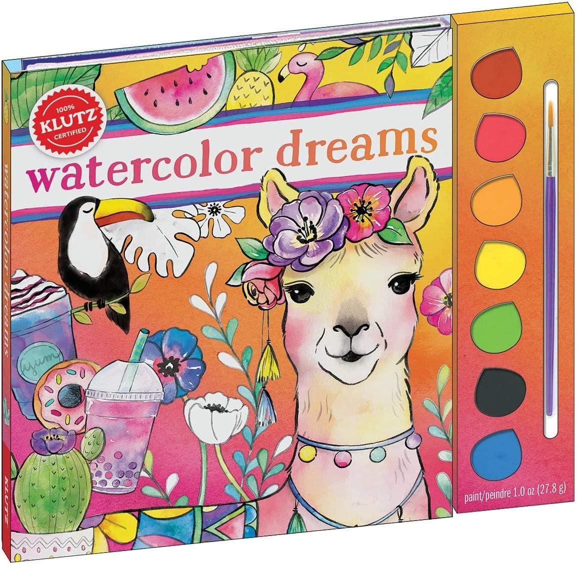 Watercolor Dreams by Klutz-1