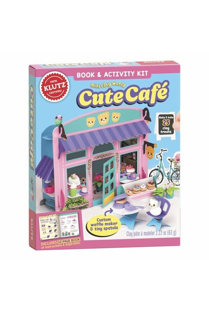 Mini Clay World Cute Cafe by Klutz