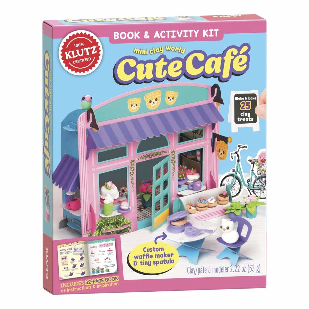 Mini Clay World Cute Cafe by Klutz-1