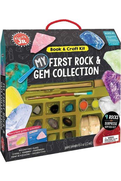 My First Rock & Gem Collection Klutz Jr.