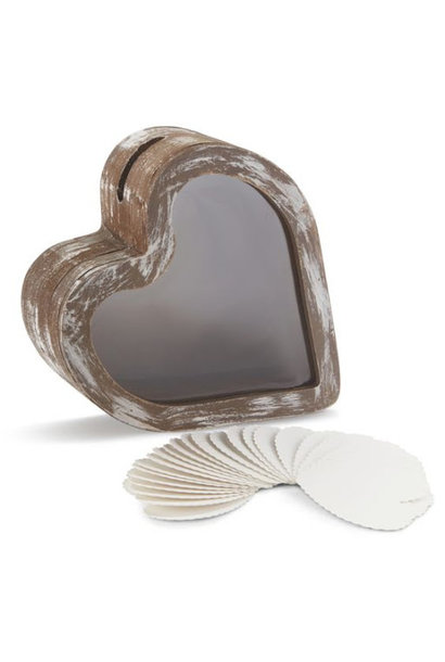 The Love Bank Blank Hearts Refill