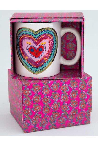 Boxed Mug Cup of Love Natural Life