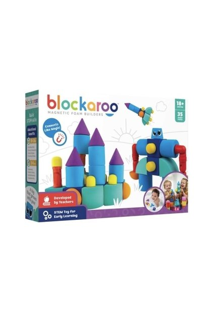 Blockaroo Magnetic Castle Set 35 pc