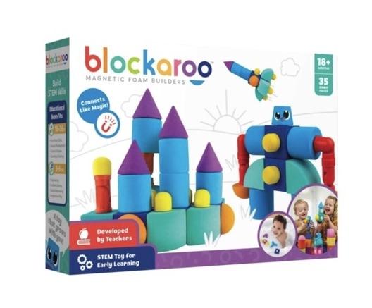 Blockaroo Magnetic Castle Set 35 pc-1