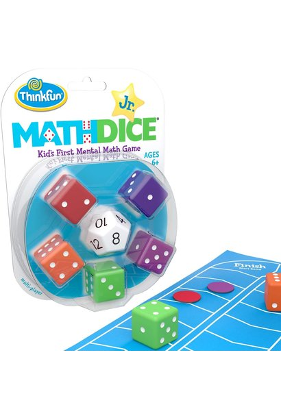 Math Dice Jr. from Think Fun