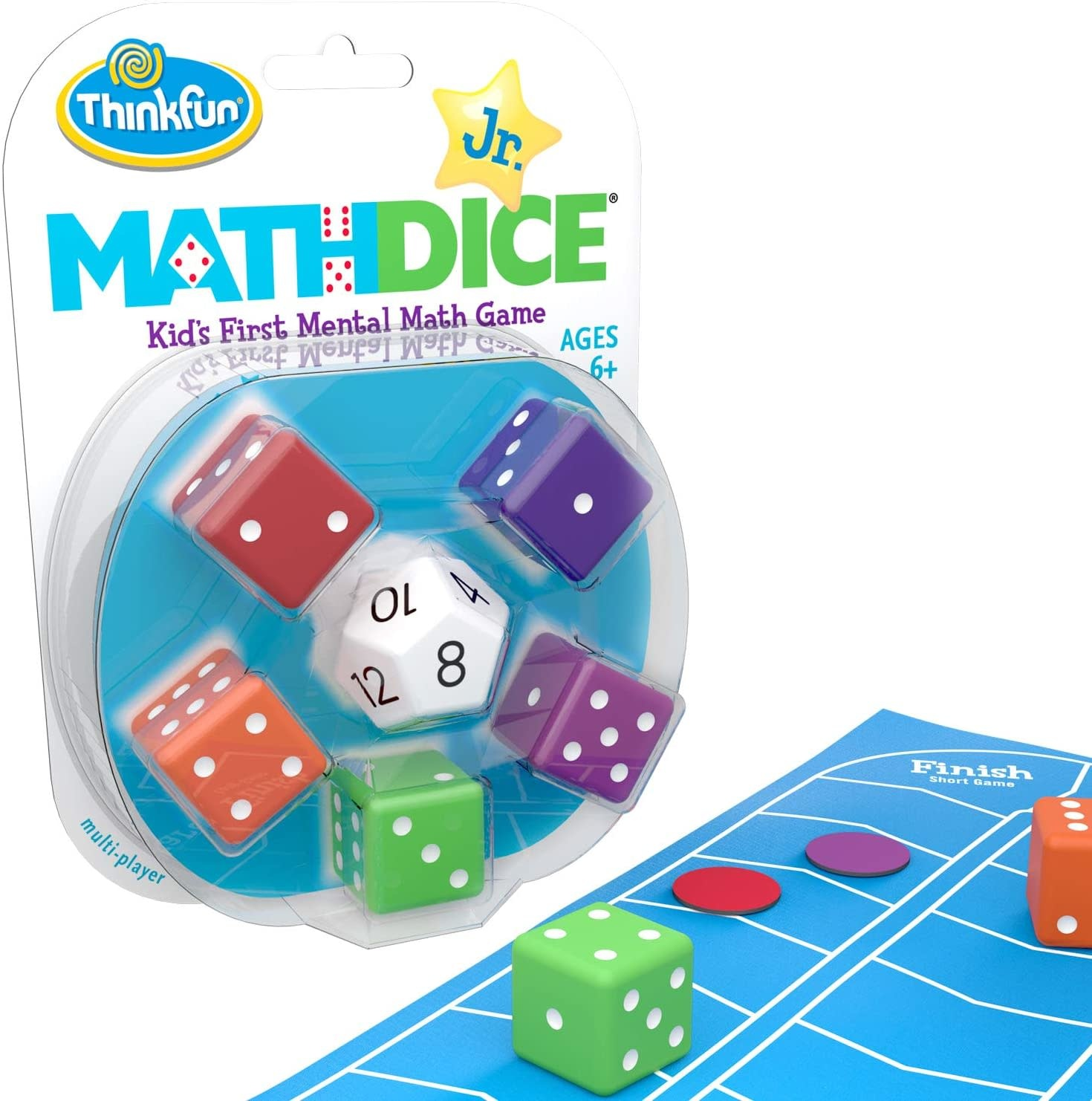 Math Dice Jr. from Think Fun-1