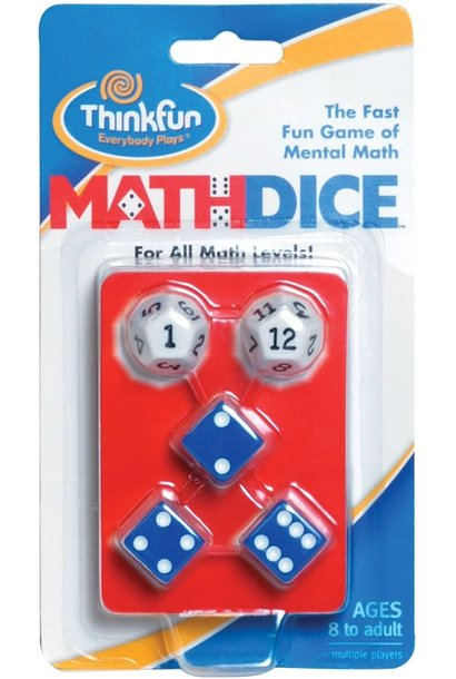Math Dice Game from Think Fun