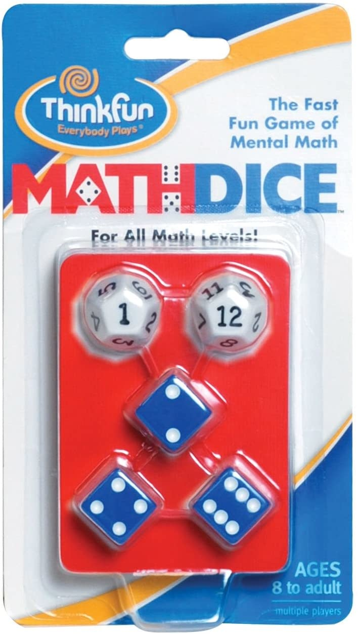 Math Dice Game from Think Fun-1