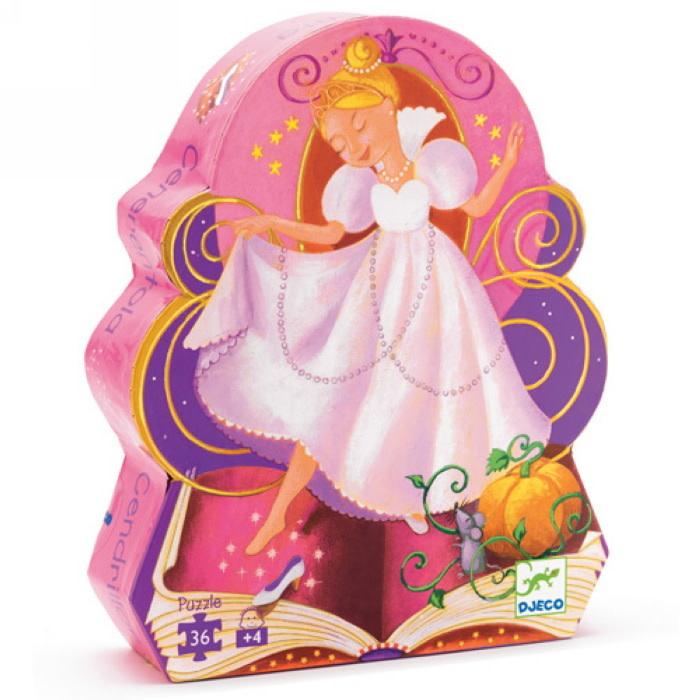 Cinderella Puzzle by Djeco-1