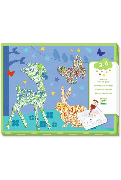 Colorful Parade Marble Painting Kit