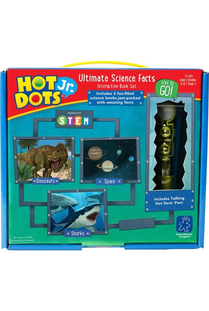 Hot Dots Jr. Ultimate Science Set