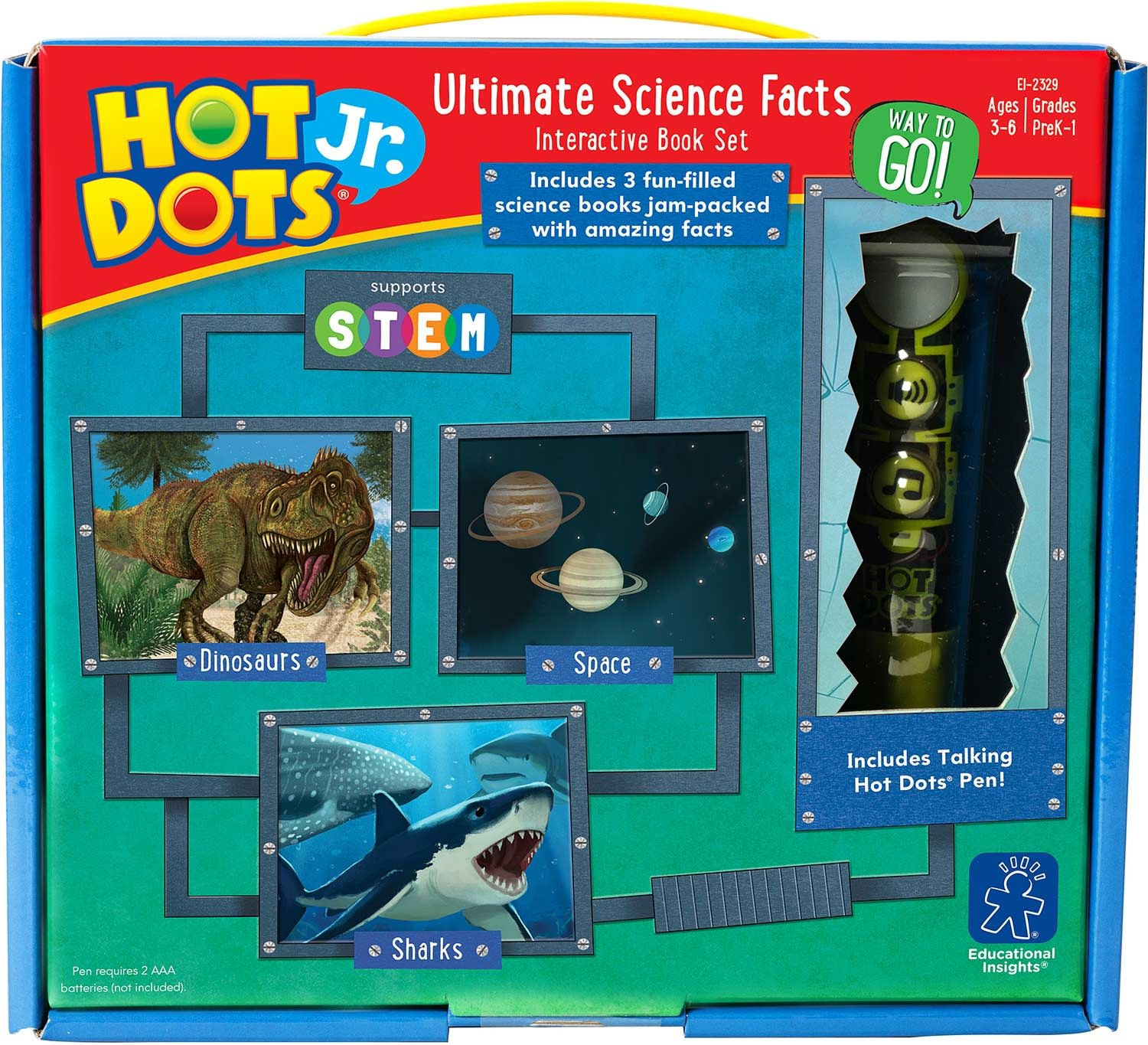 Hot Dots Jr. Ultimate Science Set-1