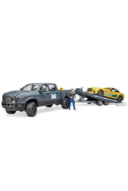 Bruder Ram Truck with Roadster Racing Team