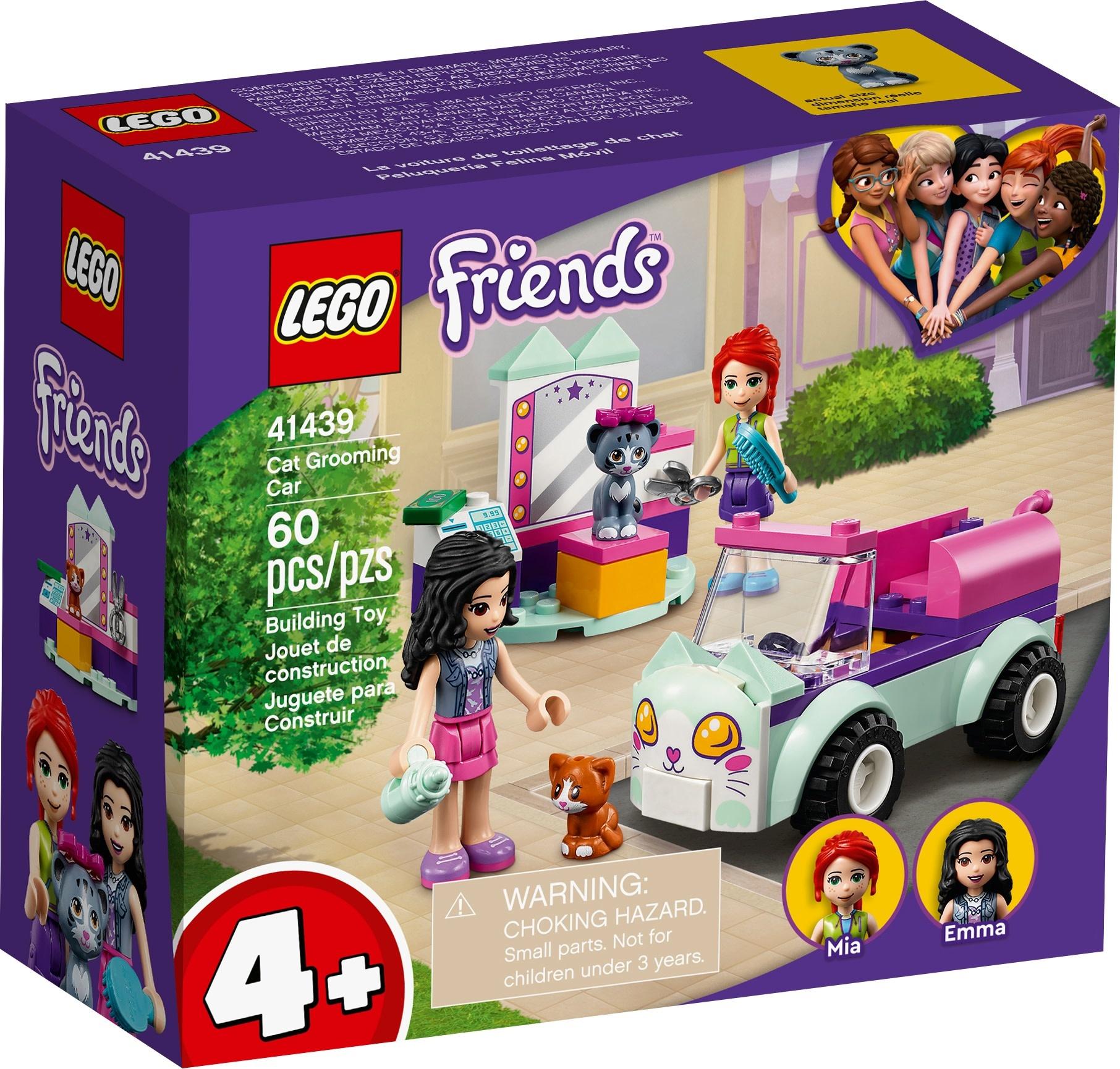 LEGO Friends Cat Grooming Car-1
