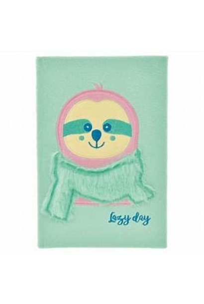 Journal Furry Sloth Lazy Day