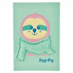 Journal Furry Sloth Lazy Day-1
