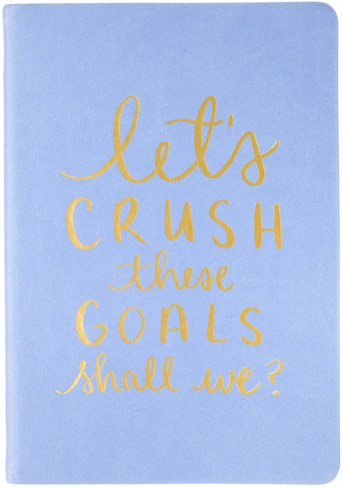 Journal Let's Crush These Goals Periwinkle-1