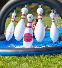 Strike Zone Bowling Water Slide-2