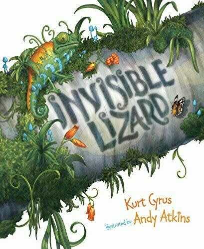 Invisible Lizard Picture Book-1