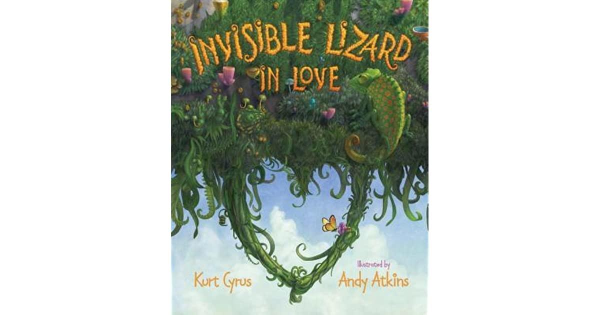 Invisible Lizard In Love Picture Book-1