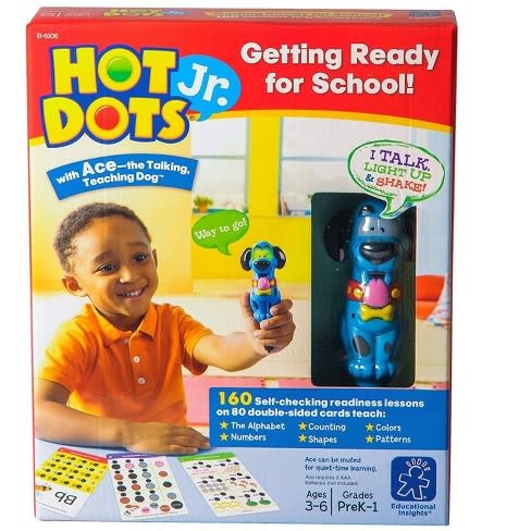 Hot Dots Jr. Getting Ready for School-1