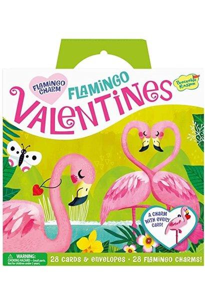 Valentines Flamingo Charm