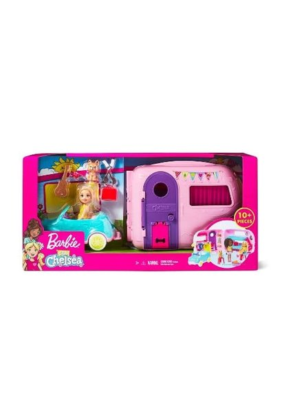 Barbie Chelsea Camper & Car