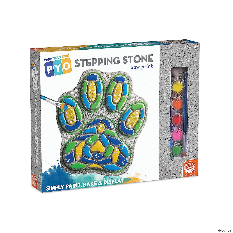 Stepping Stone Paw Print-1