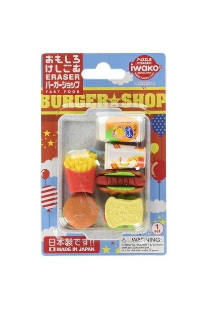 Iwako Fast Food Fun Erasers
