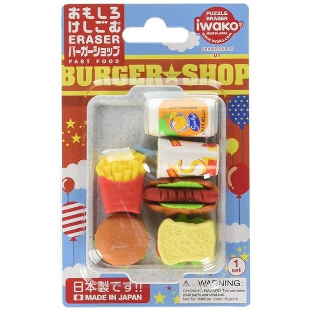 Iwako Fast Food Fun Erasers-1