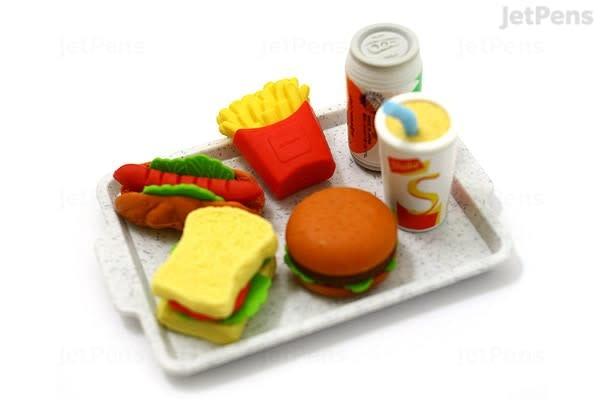 Iwako Fast Food Fun Erasers-3