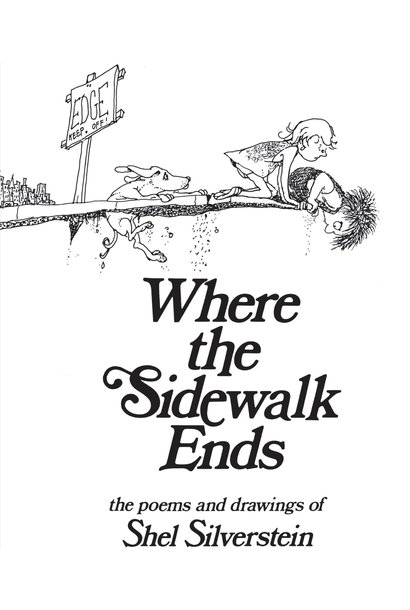 Where the Sidewalk Ends Hard Cover