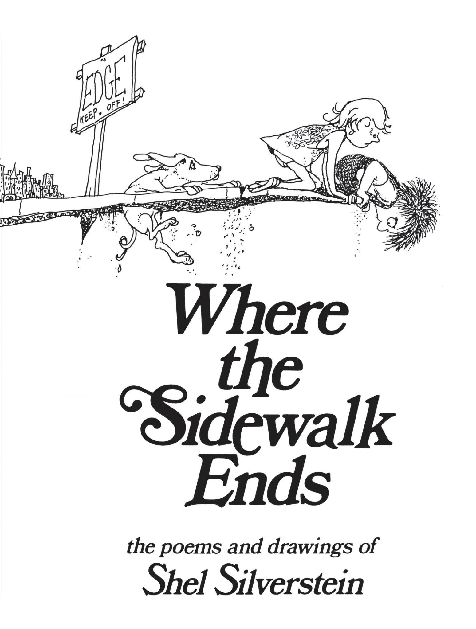 Where the Sidewalk Ends Hard Cover-1
