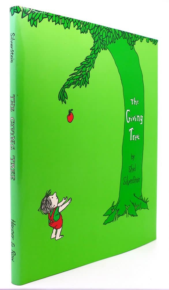 The Giving Tree with CD & Hard Cover-1
