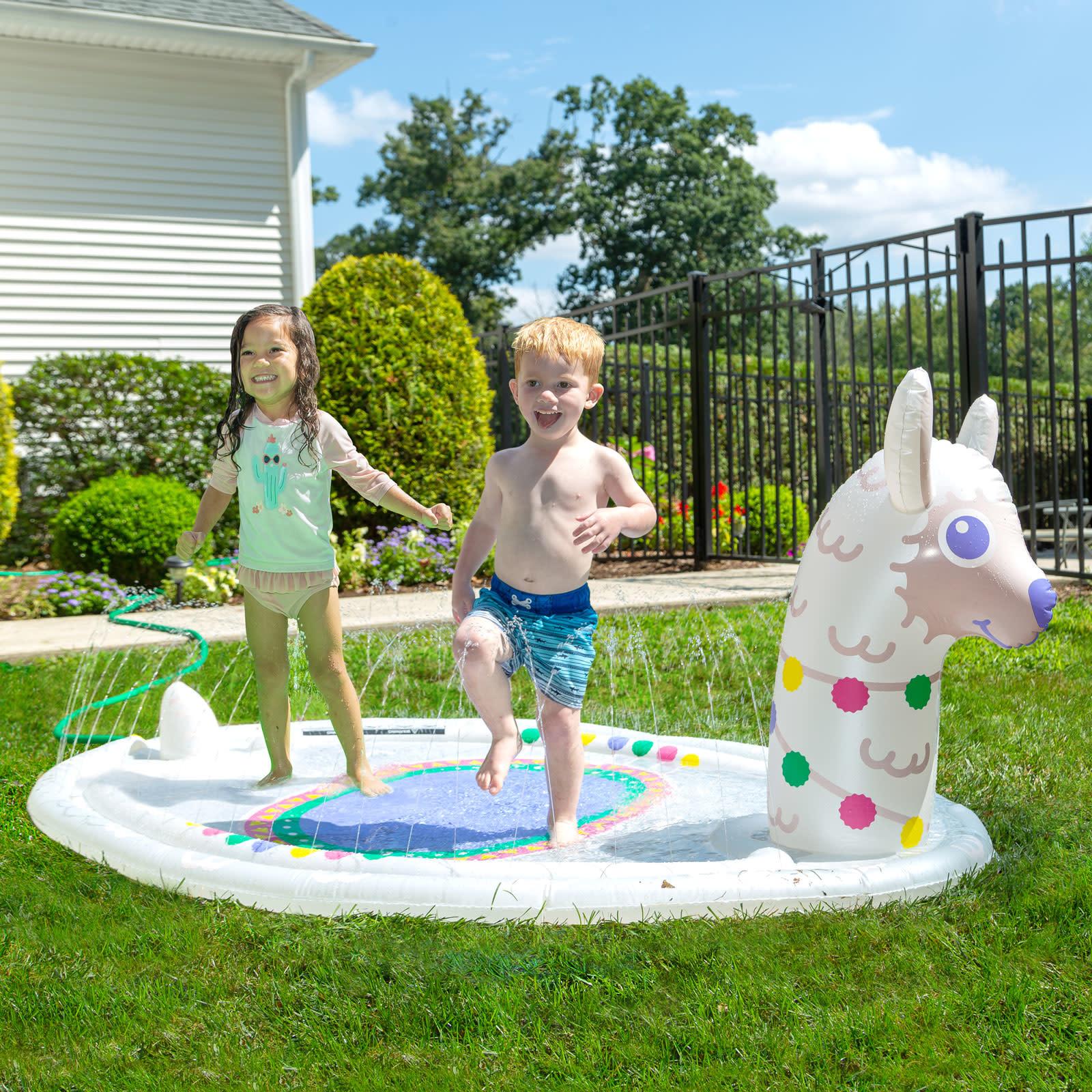 Splashy Sprinkler Llama-4