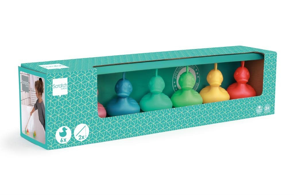 Fishing Duck Set New Colors by Scratch-1
