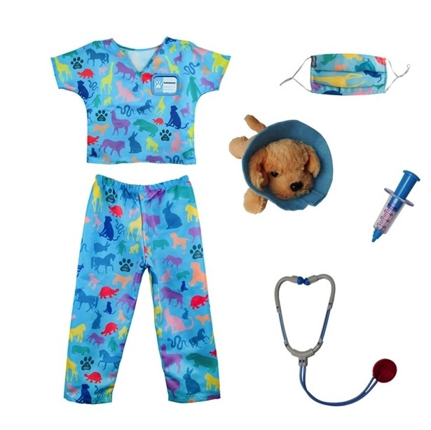 Veterinarian Dress Up Set-3