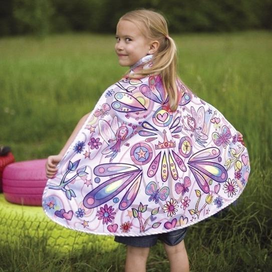 Colour-A-Cape Fairy-1