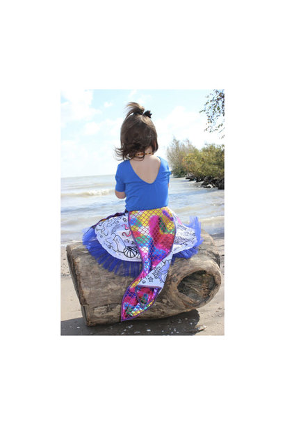 Colour-A-Skirt Mermaid