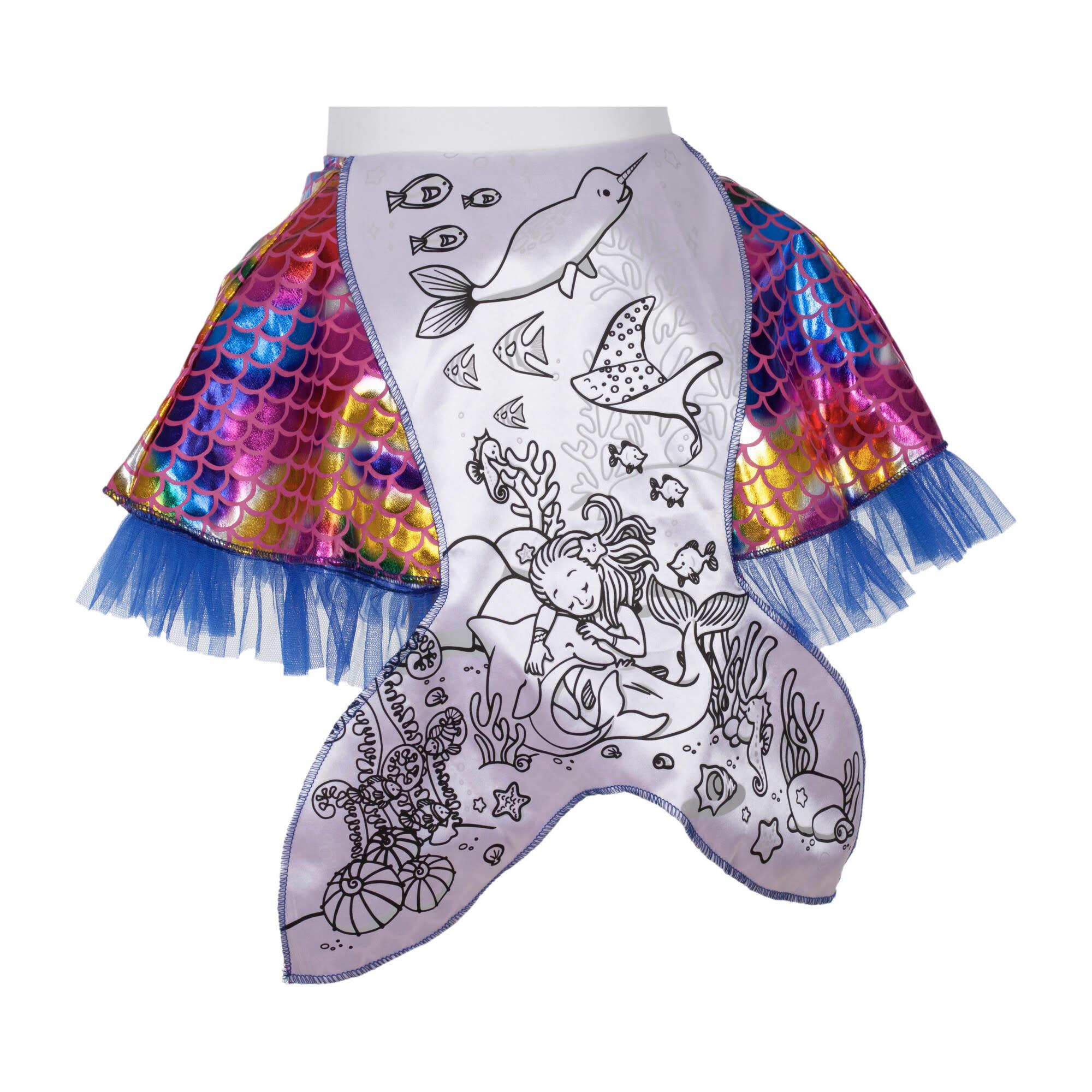 Colour-A-Skirt Mermaid-2