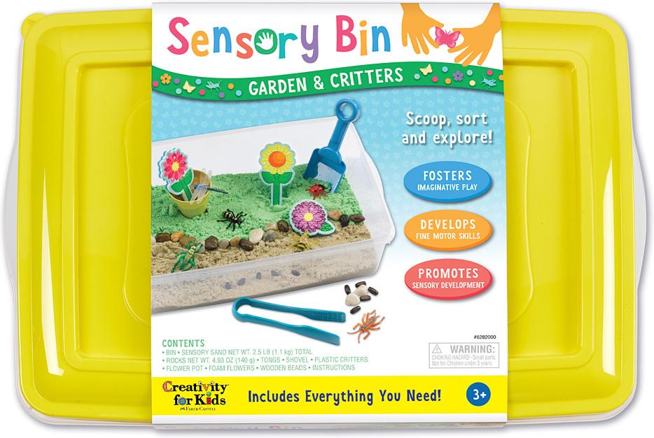 Sensory Bin Garden Critters-1