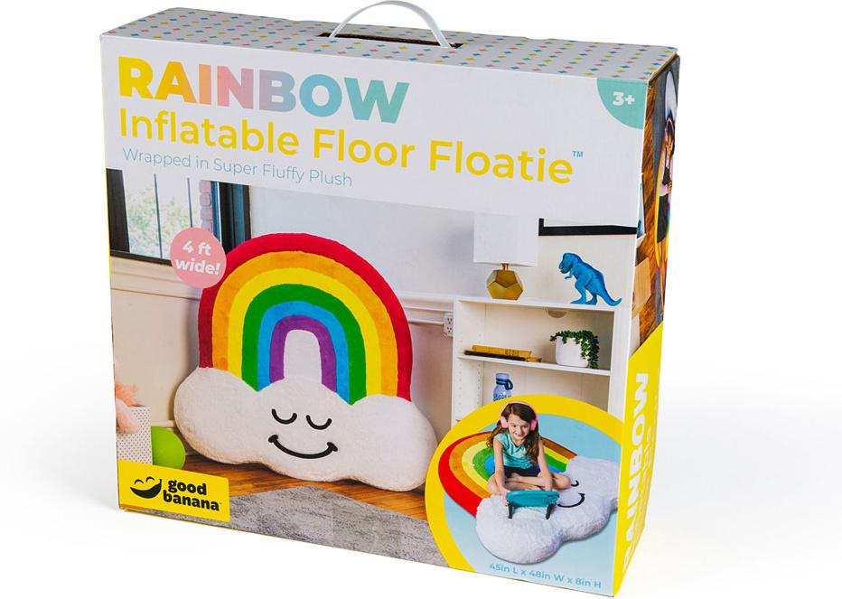 Rainbow Inflatable Floor Floatie-4