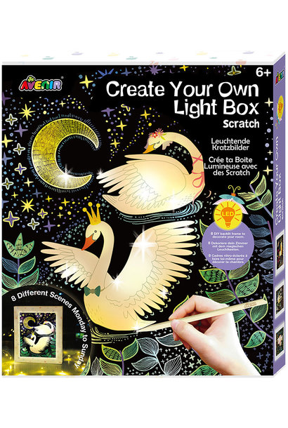 Create Your Own Light Box Scratch
