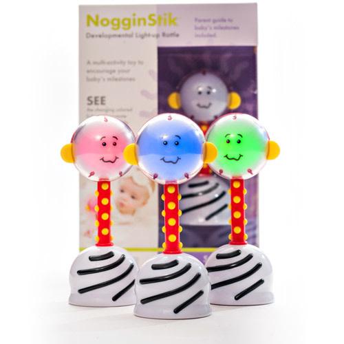 NogginStik Light-Up Rattle-3