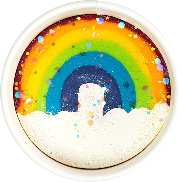 Land of Dough Over The Rainbow-1