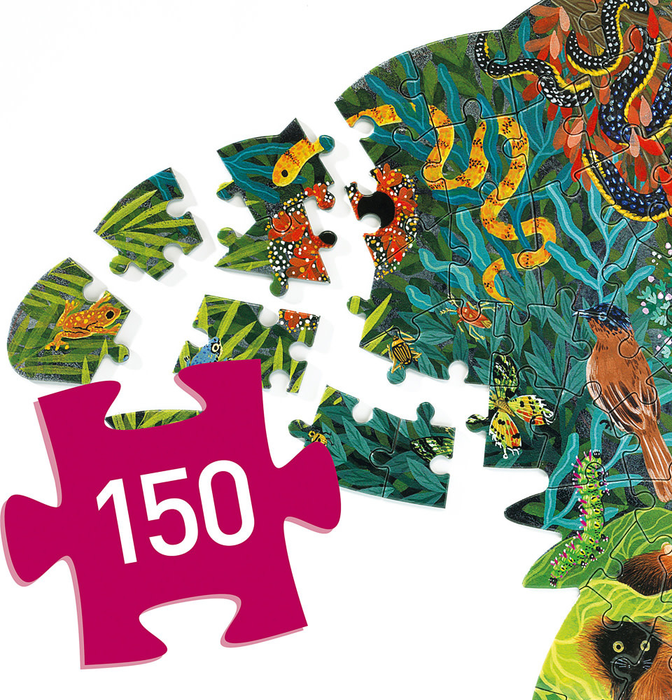 Puzz Art Chameleon 150 Pc-3