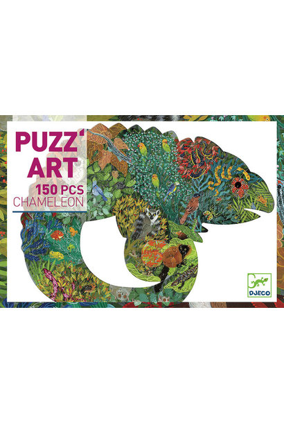 Puzz Art Chameleon 150 Pc